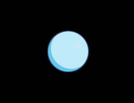 עדשת ACUVUE® בגוון כחול