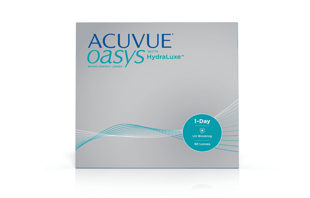 ACUVUE® OASYS® 1-DAY בטכנולוגיית HydraLuxe™ – עדשות מגע
