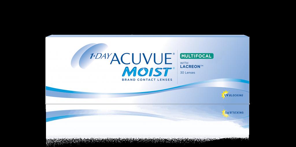 1-Day ACUVUE® MOIST Multifocal – עדשות מגע לטיפול בזוקן ראייה