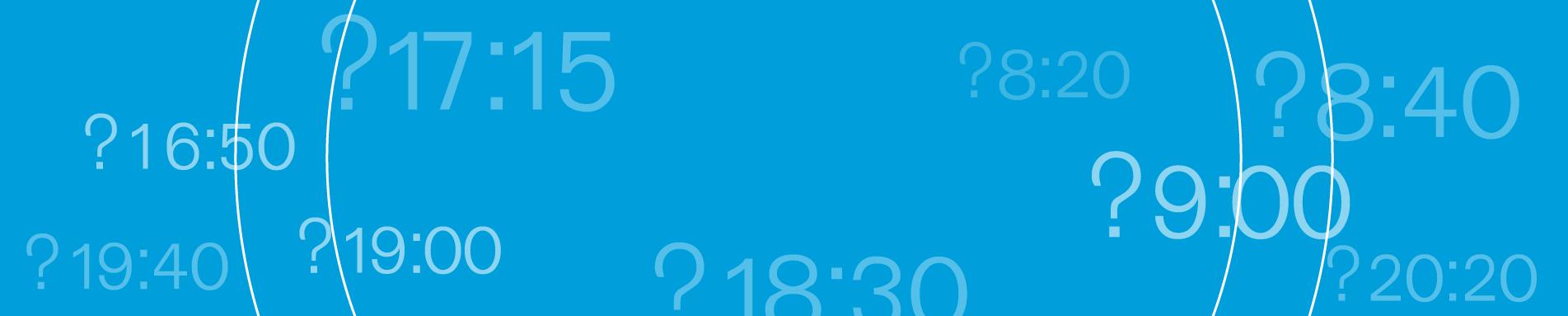 רקע תכלת עם שעות שונות ביום