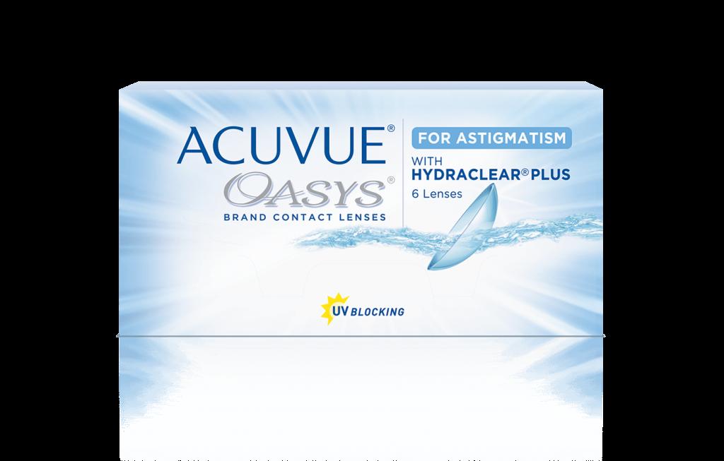 ACUVUE® OASYS® for Astigmatism 2-Week – עדשות מגע דו-שבועיות לאסטיגמטיוּת